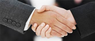 Client stories Hand Shake Image